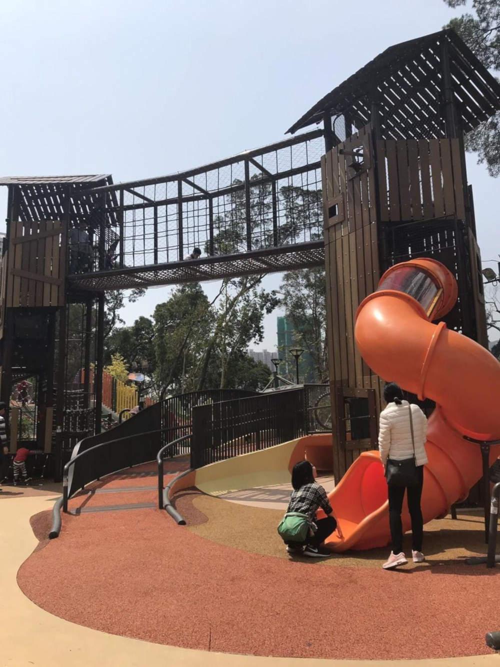 Tuen Mun Park's playground structure