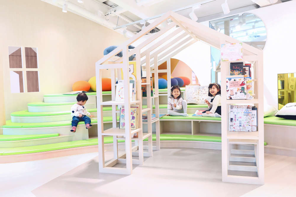Origami Cafe's Play Area