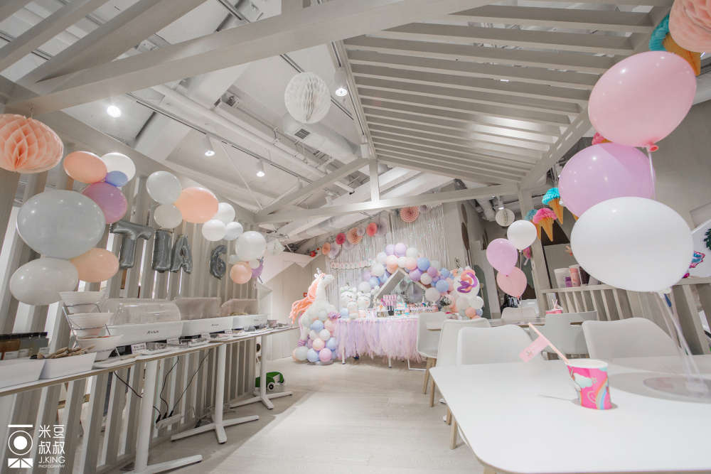 Origami Cafe's Unicorn Party Theme