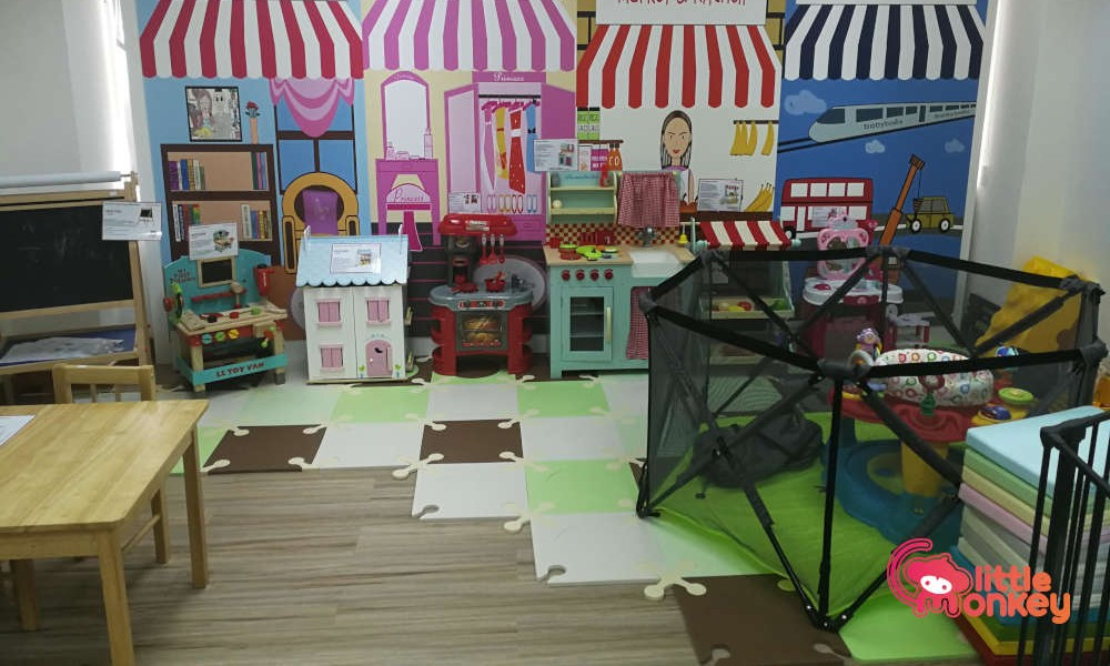 Free Play Area at Baby Basic