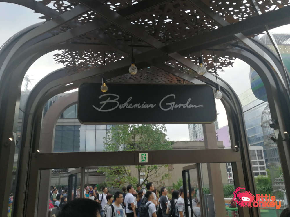 K11 Musea Bohemian Garden Sign