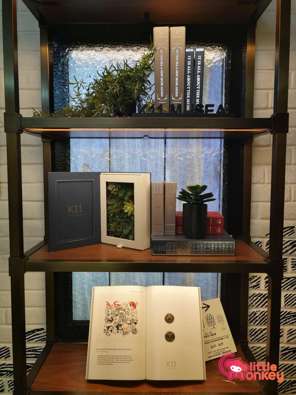 K11 Musea Elevator Book Shelf