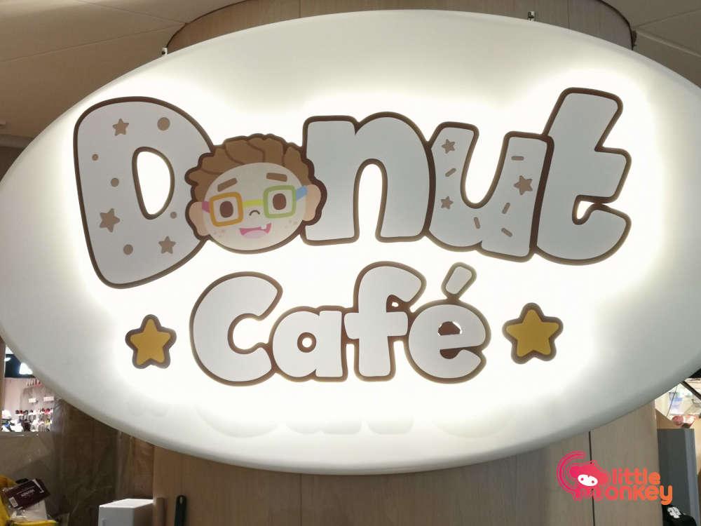 K11 Musea Donut Cafe Sign
