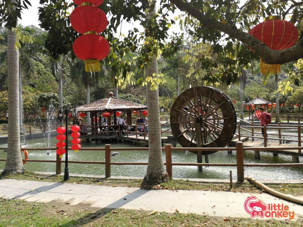 Tai Tong Organic EcoPark's Lake Pavilion