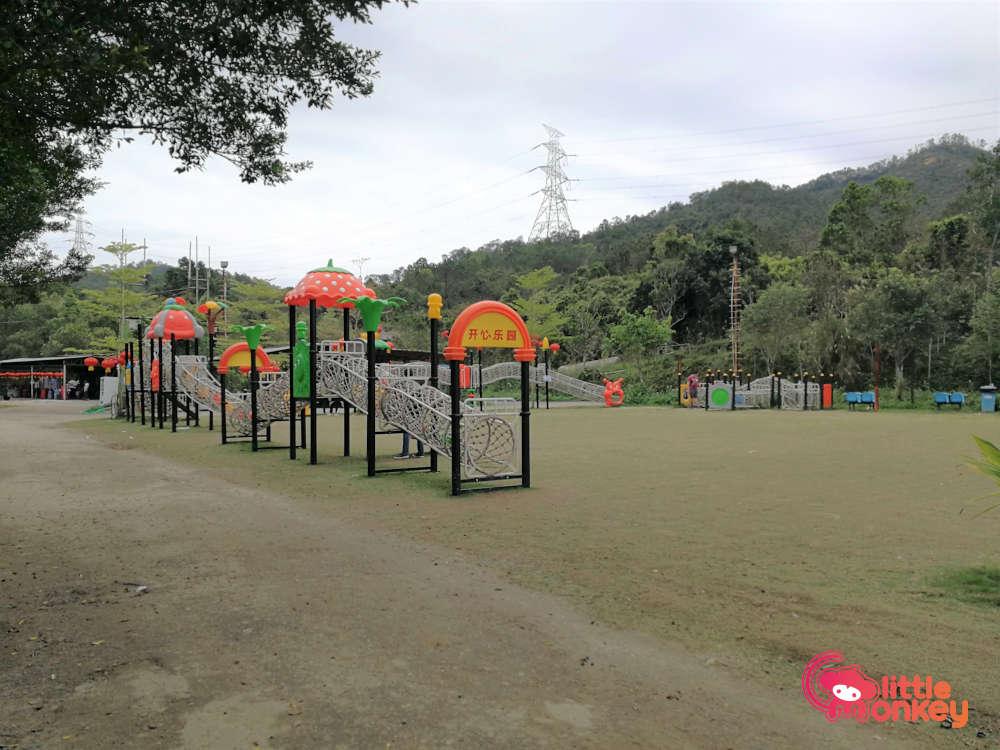 Tai Tong Organic EcoPark's Grassland Playground