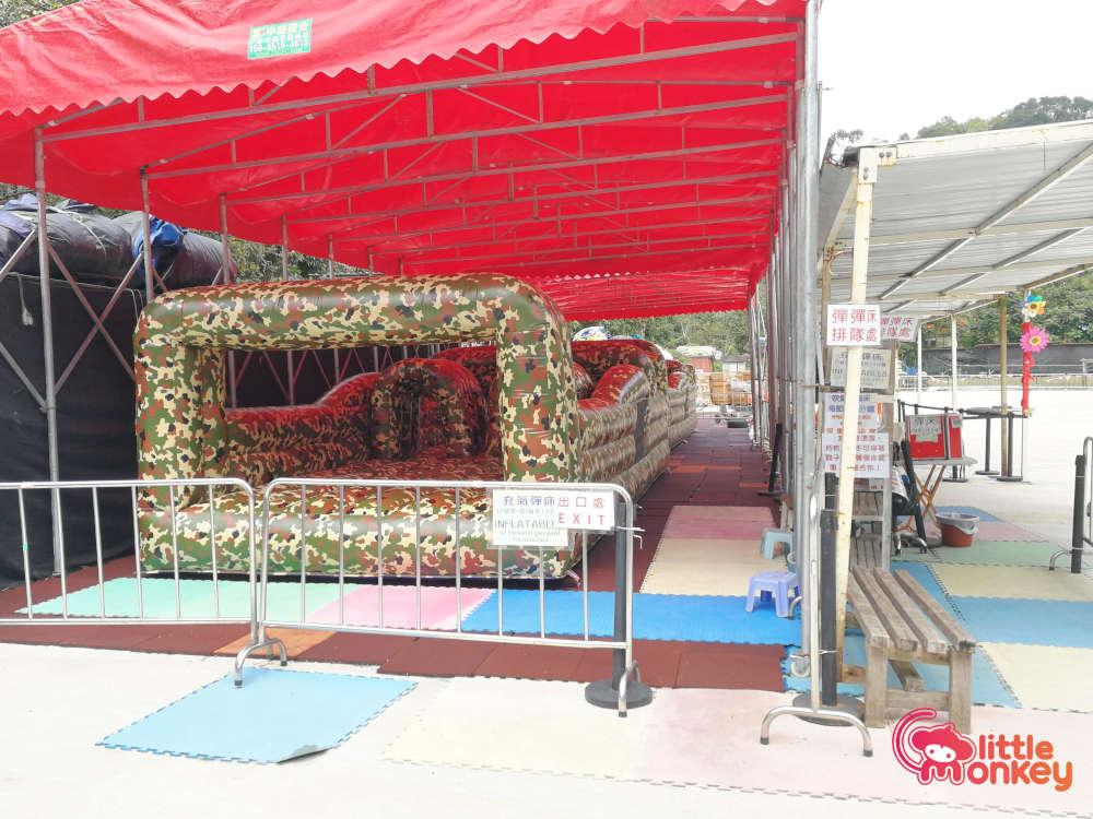 Tai Tong Organic EcoPark's Bouncy Castle