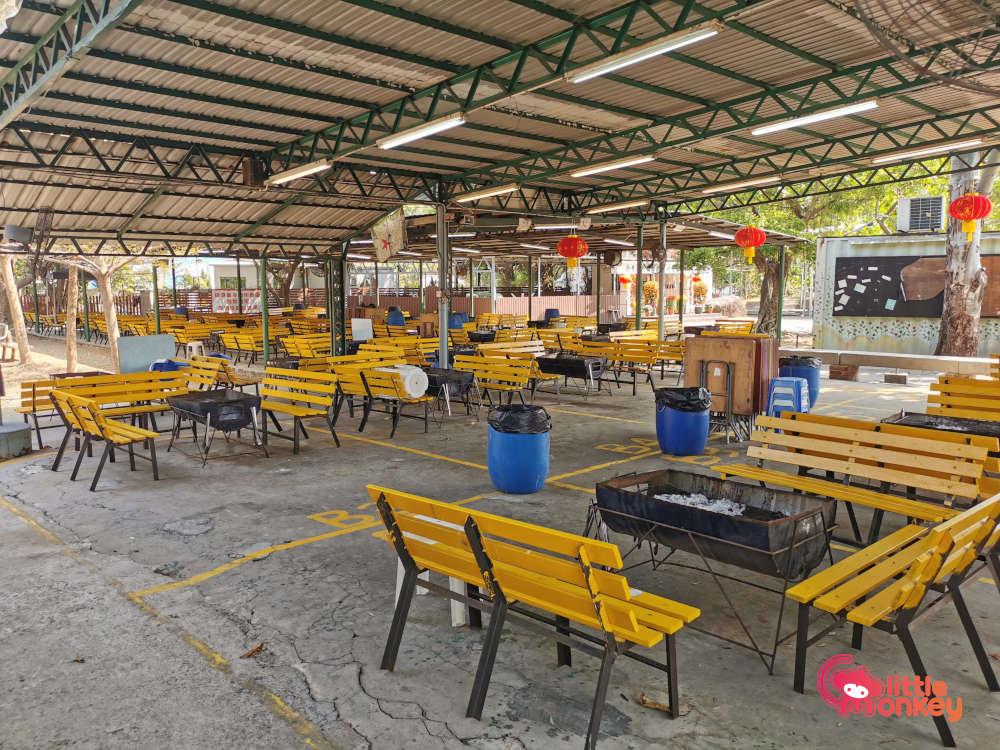 BBQ Pit Area at Tin Shui Wai Green Field Garden