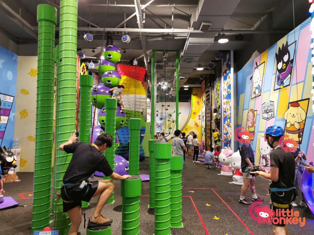 Verm City Clip N' Climb Area for Kids